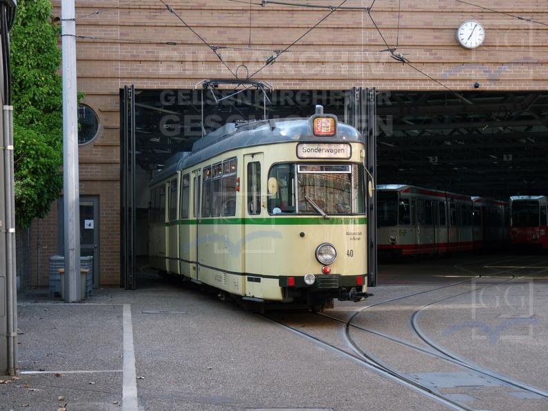Bogestra Straßenbahndepot Gelsenkirchen Bildarchiv Der
