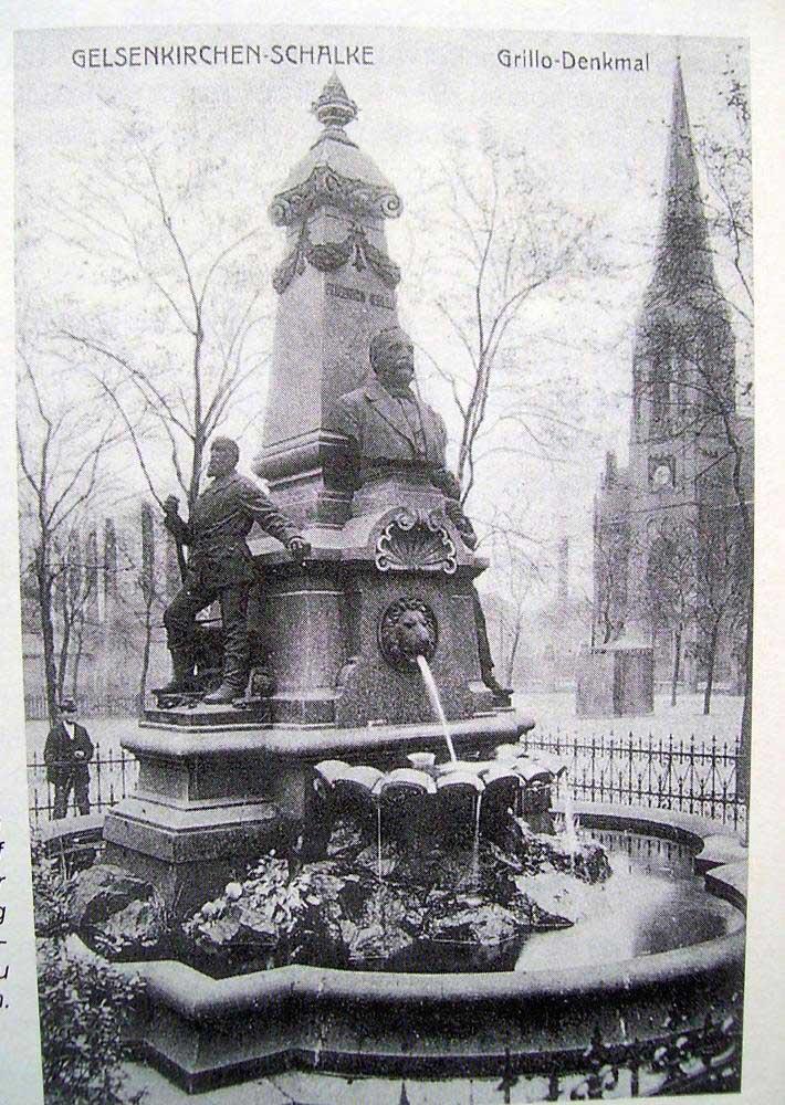 Gelsenkirchener Geschichten :: Grillo-Denkmal damals (1)