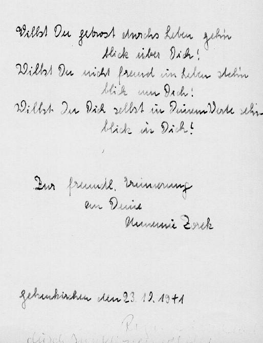poesiealbum erste seite spruch