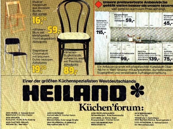 Gelsenkirchener Geschichten Möbelhaus Heiland 1