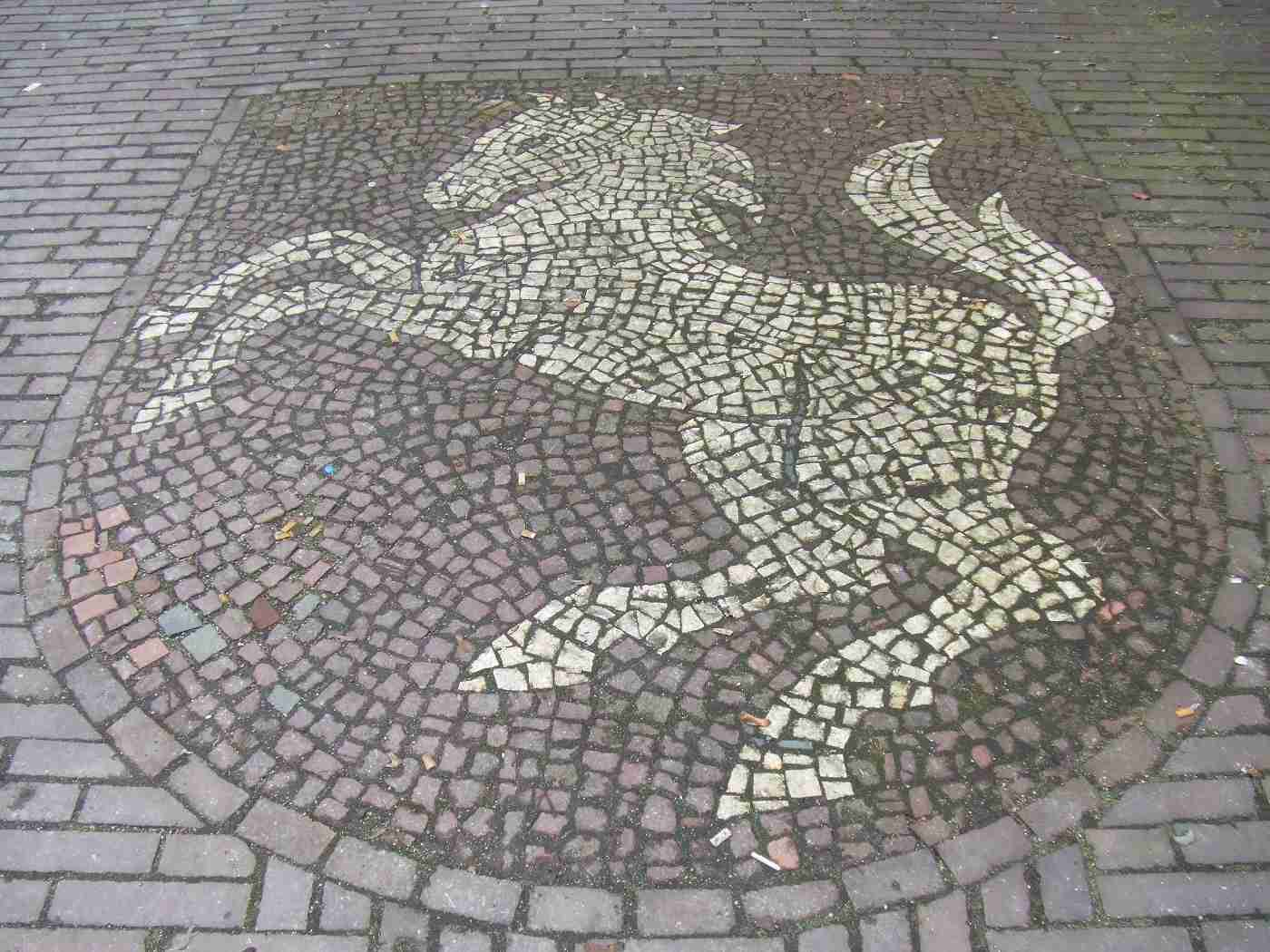 Pflaster Steine Muster : Gelsenkirchener Geschichten  Altes schwarzweißes Fischgrät